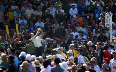 Round Three of the 112th U.S. Open in San Francisco