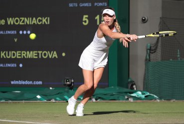Veronika Kudermetova against Caroline Wozniacki in Second round match.