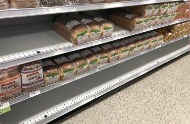 Hurrican Dorian Supermarket Preparation in Florida