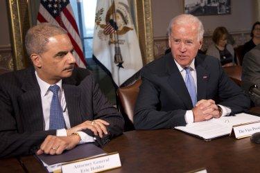 Vice President Joe Biden meets with gun safety advocacy groups in Washington
