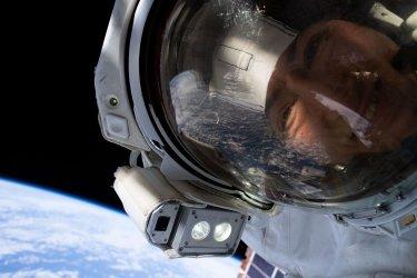 NASA Astronauts Christina Koch and Jessica Meir Perform First All-Female Spacewalk