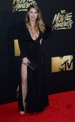 Kailyn Lowry attends the MTV Movie Awards in Burbank, California
