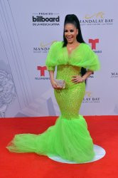 Carolina Sandoval attends the Billboard Latin Music Awards in Las Vegas