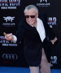 "Stan Lee attends the ""Captain America: Civil War"" premiere in Los Angeles"