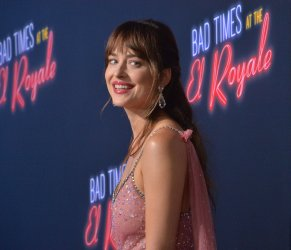"""Dakota Johnson attends the """"Bad Times at the El Royale"""" premiere in Los Angeles"""
