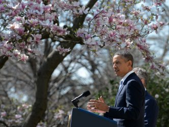Obama Outlines His Budget Proposal at the White House