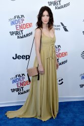 Abigail Spencer attends the Film Independent Spirit Awards in Santa Monica, California