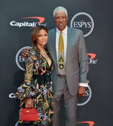 Julius Erving and Dorys Madden attend the 27th annual ESPY Awards in Los Angeles