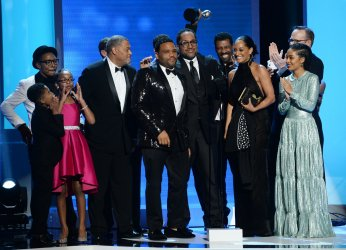 """black-ish"" wins best comedy series award at the NAACP Image Awards in Pasadena"