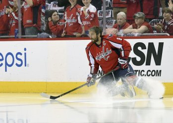 Ovechkin Takes The Ice