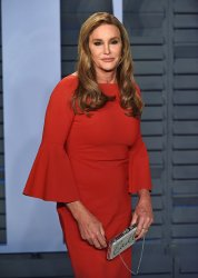 Caitlyn Jenner attends the Vanity Fair Oscar Party in Beverly Hills