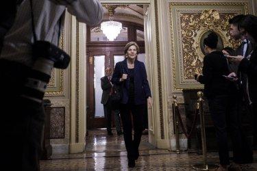Senate Democrates Meet to Discuss Options to Avert a Government Shutdown