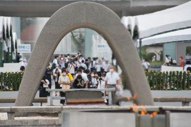 Ceremony Marks the 75th Anniversary of the Hiroshima Atomic Bombing