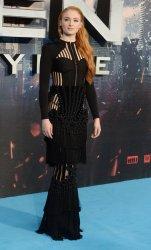 Sophie Turner attends X- Men: Apocalypse premiere in London