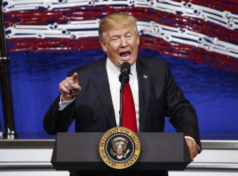 Trump speaks in Kenosha, Wisconsin