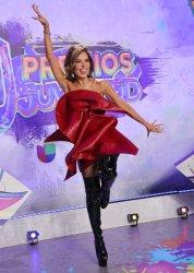The red carpet at the 2021 Univision's Premios Juventud, Miami, Florida