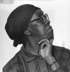 Poet Gwendolyn Brooks
