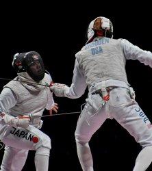 Fencing at Tokyo Olympics