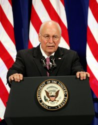 Vice President Dick Cheney attends New York Republican State Committee Dinner in New York