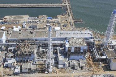 Fukushima Dai-ichi nuclear power plant in Japan