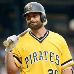 Pirates Catcher Francisco Cervelli Reacts to Called Stike Three