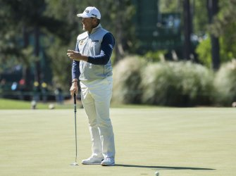 Lee Westwood at the Masters