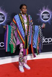 Big Freedia attends American Music Awards in LA