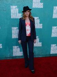 ZZ Ward arrives at the 2012 MTV Movie Awards in Universal City, California