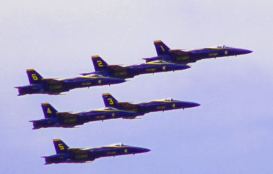 Blue Angels Honor Frontline Workers of Coronavirus Pandemic
