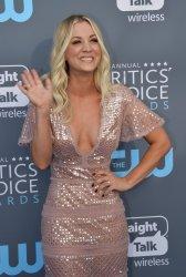 Kaley Cuoco attends the Critics' Choice Awards in Santa Monica