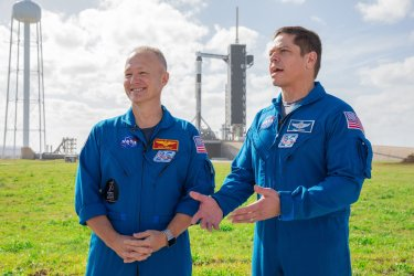 SpaceX Crew Dragon Launch Escape Demonstration