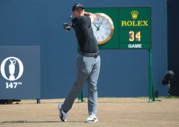 Rory Mcilroy tees off at 147th Open Golf Championships