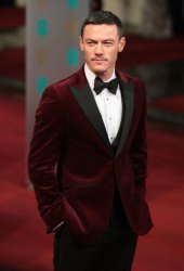 Luke Evans arrives at the Baftas Awards Ceremony