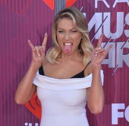 Stassi Schroeder attends the iHeartRadio Music Awards in Los Angeles