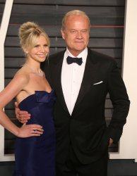 Kayte Grammer and Kelsey Grammer arrive at the Vanity Fair Oscar Party in Beverly Hills