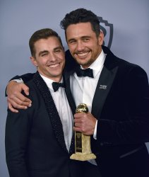 James and Dave Franco attend Instyle/Warner Bros. Golden Globes party