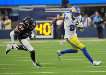 Rams Woods Runs For 19 Yards Against the Bears