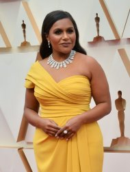 Mindy Kaling arrives for the 92nd annual Academy Awards in Los Angeles