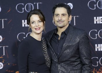 Brad Paisley at the Season 8 premiere of Game of Thrones