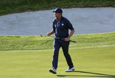 Webb Simpson at the Ryder Cup 2018