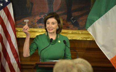 House Speaker Pelosi welcomes Irish PM Varadkar to US Capitol