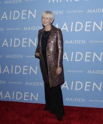 Joanna Coles at the 'Maiden' New York premiere