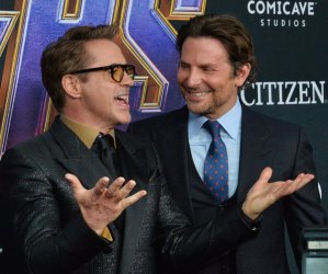 "Robert Downey Jr. and Bradley Cooper attend ""Avengers: Endgame"" premiere in Los Angeles"