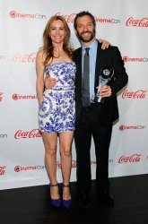 Leslie Mann and Judd Apatow arrives at the CinemaCon Big Screen Achievement Awards Ceremony in Las Vegas