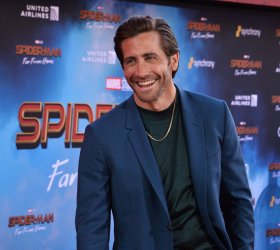 """Jake Gyllenhaal attends the """"Spider-Man: Far From Home"""" premiere in Los Angeles"""