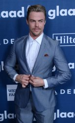 Derek Hough attends the 27th annual GLAAD Media Awards in Beverly Hills
