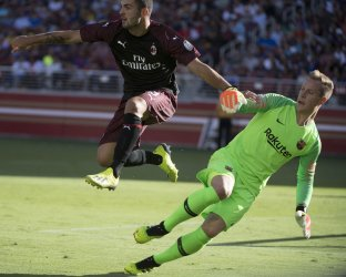 International Champions Cup A.C. Milan vs F.C. Barcelona