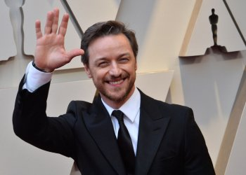 James McAvoy arrives for the 91st Academy Awards