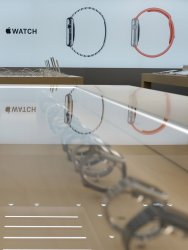 Apple Watch on the launch day in Tokyo