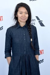 Chloe Zhao attends the Film Independent Spirit Awards in Santa Monica, California
